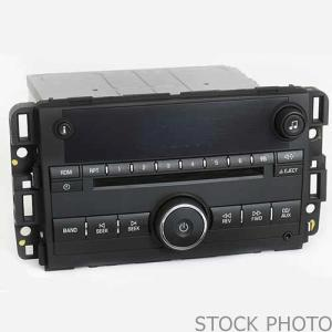 Radio / CD Player / GPS (Not Actual Photo)